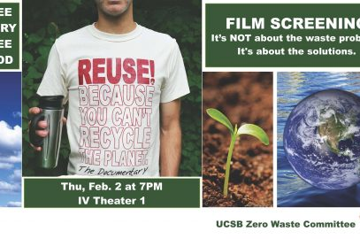 Zero Waste Committee Film Screening: REUSE!